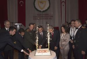 KKTC'nin 32. Kuruluş Yıldönümü Dolayısıyla Ankara'da Resepsiyon Düzenlendi (12 Kasım 2015)