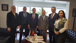 Orhan Kilercioğlu ve TÜSİAV ziyareti