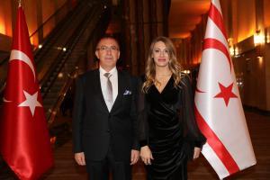 Kuzey Kıbrıs Türk Cumhuriyeti'nin 35'inci Kuruluş Yıldönümü Dolayısıyla Kutlama Resepsiyonu Düzenlendi (1511/2018)