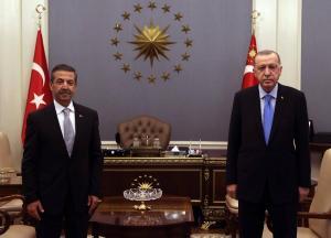 Kuzey Kıbrıs Türk Cumhuriyeti Dışişleri Bakanı Sayın Tahsin Ertuğruloğlu Ankara'yı ziyaret etti. (11 Ocak 2021)